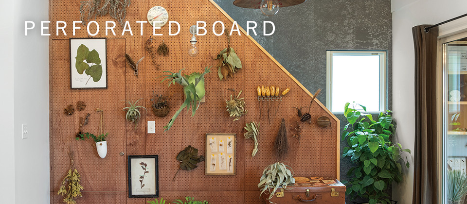 PERFORAATED BOARD